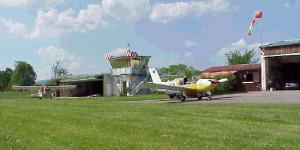 Flugplatz Ansicht